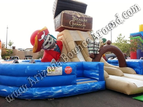 Pirate themed obstacle course rental AZ